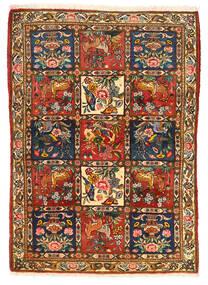 バクティアリ Collectible 絨毯 115X155 オリエンタル 手織り 濃い茶色/赤 (ウール, ペルシャ/イラン)
