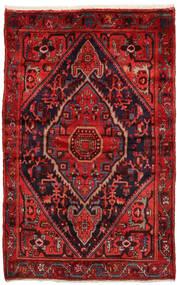 ザンジャン 絨毯 137X212 オリエンタル 手織り 深紅色の/錆色 (ウール, ペルシャ/イラン)