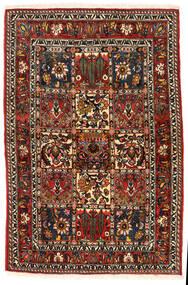 バクティアリ Collectible 絨毯 108X162 オリエンタル 手織り 濃い茶色/薄茶色 (ウール, ペルシャ/イラン)