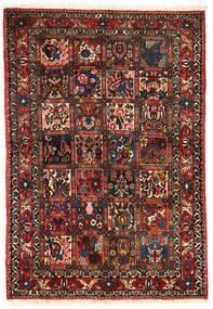 バクティアリ Collectible 絨毯 101X151 オリエンタル 手織り 濃い茶色/深紅色の (ウール, ペルシャ/イラン)