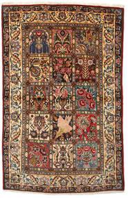 バクティアリ Collectible 絨毯 108X170 オリエンタル 手織り 濃い茶色/深紅色の (ウール, ペルシャ/イラン)