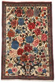 バクティアリ Collectible 絨毯 100X154 オリエンタル 手織り 濃い茶色/ベージュ (ウール, ペルシャ/イラン)