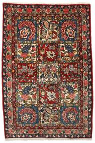 バクティアリ Collectible 絨毯 107X156 オリエンタル 手織り 濃い茶色/深紅色の (ウール, ペルシャ/イラン)