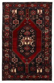バクティアリ 絨毯 132X210 オリエンタル 手織り 濃い茶色/深紅色の (ウール, ペルシャ/イラン)