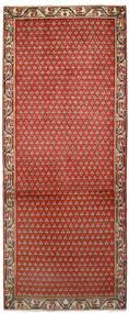 サルーク Mir 絨毯 79X197 オリエンタル 手織り 廊下 カーペット 錆色/濃い茶色 (ウール, ペルシャ/イラン)