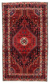 ハマダン 絨毯 115X199 オリエンタル 手織り 深紅色の/濃い茶色 (ウール, ペルシャ/イラン)