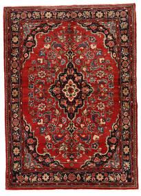 マラバン 絨毯 149X208 オリエンタル 手織り 深紅色の/濃い茶色 (ウール, ペルシャ/イラン)