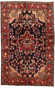 マハル 絨毯 137X213 オリエンタル 手織り 深紅色の/濃い茶色 (ウール, ペルシャ/イラン)