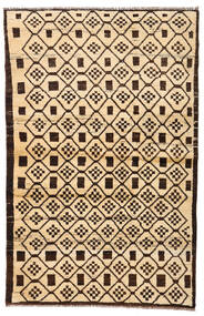 Moroccan Berber - Afghanistan 絨毯 110X173 モダン 手織り ベージュ/濃い茶色/暗めのベージュ色の (ウール, アフガニスタン)