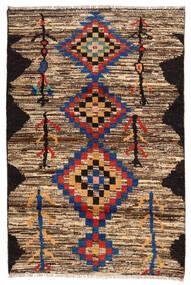 Moroccan Berber - Afghanistan 絨毯 118X178 モダン 手織り 濃い茶色/茶 (ウール, アフガニスタン)