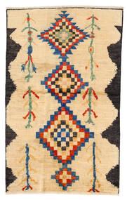Moroccan Berber - Afghanistan 絨毯 115X183 モダン 手織り ベージュ/暗めのベージュ色の/薄茶色 (ウール, アフガニスタン)