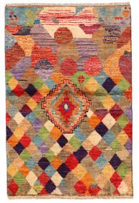 Moroccan Berber - Afghanistan 絨毯 85X130 モダン 手織り 深紅色の/赤 (ウール, アフガニスタン)