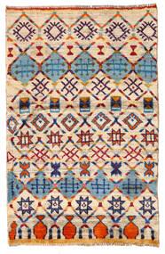 Moroccan Berber - Afghanistan 絨毯 87X135 モダン 手織り ベージュ/濃い紫 (ウール, アフガニスタン)