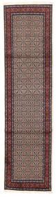 ムード 絨毯 78X303 オリエンタル 手織り 廊下 カーペット 濃い茶色/深紅色の (ウール/絹, ペルシャ/イラン)