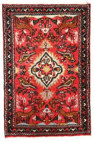 リリアン 絨毯 57X89 オリエンタル 手織り 濃い茶色/赤 (ウール, ペルシャ/イラン)