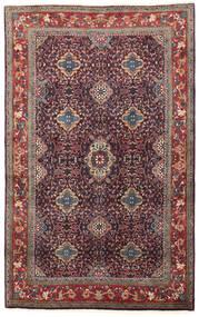 ビジャー 絨毯 134X209 オリエンタル 手織り 濃い紫/深紅色の (ウール, ペルシャ/イラン)