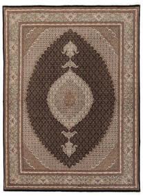 タブリーズ 50 Raj 絨毯 175X245 オリエンタル 手織り 茶/薄い灰色 (ウール/絹, ペルシャ/イラン)