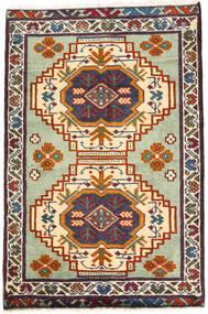 トルクメン 絨毯 59X89 オリエンタル 手織り 濃いグレー/ベージュ (ウール, ペルシャ/イラン)