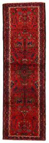 ハマダン 絨毯 90X286 オリエンタル 手織り 廊下 カーペット 深紅色の/錆色 (ウール, ペルシャ/イラン)