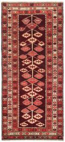 キリム カラバフ 絨毯 132X303 オリエンタル 手織り 廊下 カーペット 深紅色の/錆色 (ウール, アゼルバイジャン/ロシア)