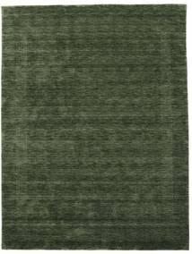 ハンドルーム Gabba - フォレストグリーン 絨毯 210X290 モダン 深緑色の (ウール, インド)