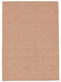 キリム ルーム - Dusty Rose 絨毯 160X230 モダン 手織り 赤/ライトピンク (ウール, インド)