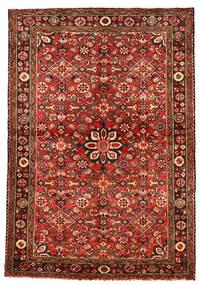 ホセイナバード 絨毯 113X163 オリエンタル 手織り 深紅色の/錆色 (ウール, ペルシャ/イラン)