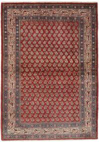 サルーク Mir 絨毯 106X158 オリエンタル 手織り 濃い茶色/黒 (ウール, ペルシャ/イラン)