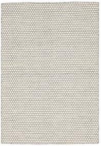 キリム Honey Comb - Cream/黒 絨毯 160X230 モダン 手織り ベージュ/薄い灰色 (ウール, インド)