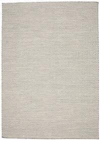 キリム Honey Comb - Cream/黒 絨毯 240X340 モダン 手織り 薄い灰色/ベージュ (ウール, インド)