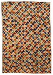 Moroccan Berber - Afghanistan 絨毯 200X289 モダン 手織り 茶/濃い茶色 (ウール, アフガニスタン)
