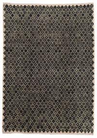 Moroccan Berber - Afghanistan 絨毯 202X286 モダン 手織り 濃いグレー/薄い灰色 (ウール, アフガニスタン)