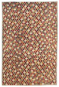 Moroccan Berber - Afghanistan 絨毯 197X297 モダン 手織り 薄い灰色/深紅色の (ウール, アフガニスタン)