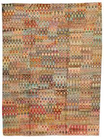 Moroccan Berber - Afghanistan 絨毯 209X289 モダン 手織り 薄茶色/暗めのベージュ色の (ウール, アフガニスタン)