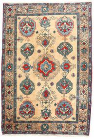 アルデビル 絨毯 114X168 オリエンタル 手織り ベージュ/薄茶色 (ウール, ペルシャ/イラン)