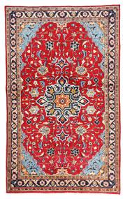マハル 絨毯 128X210 オリエンタル 手織り 赤/ホワイト/クリーム色 (ウール, ペルシャ/イラン)