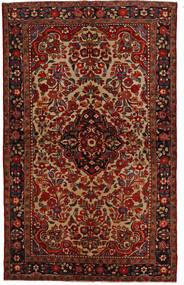 リリアン 絨毯 148X240 オリエンタル 手織り 濃い茶色/深紅色の (ウール, ペルシャ/イラン)