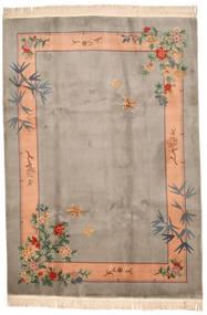 中国 90 Line 絨毯 213X305 オリエンタル 手織り 薄い灰色/薄茶色 (ウール, 中国)