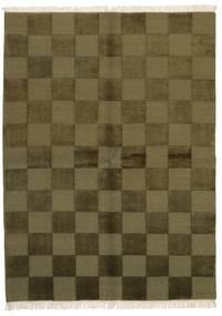 ギャッベ インド 絨毯 172X235 モダン 手織り オリーブ色/深緑色の (ウール, インド)