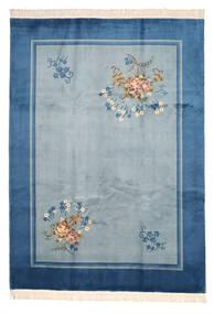 中国 90 Line 絨毯 244X335 オリエンタル 手織り 青/紺色の (ウール, 中国)