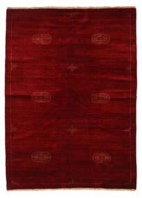 Huttan 絨毯 142X195 オリエンタル 手織り 深紅色の/濃い茶色 (ウール, パキスタン)