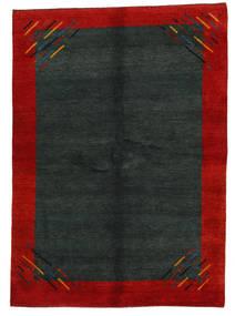 ギャッベ インド 絨毯 171X239 モダン 手織り 深緑色の/錆色 (ウール, インド)