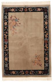 中国 90 Line 絨毯 168X244 オリエンタル 手織り 茶/薄茶色 (ウール, 中国)