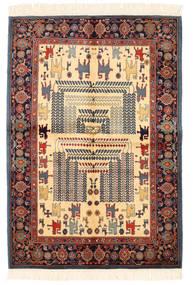 Ziegler モダン 絨毯 138X200 モダン 手織り 濃いグレー/深紅色の (ウール, パキスタン)