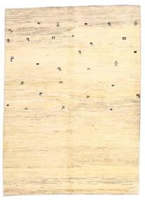 ギャッベ ペルシャ 絨毯 169X236 モダン 手織り ベージュ/黄色 (ウール, ペルシャ/イラン)