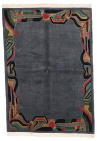Himalaya 絨毯 167X235 モダン 手織り 濃いグレー/深紅色の (ウール, インド)
