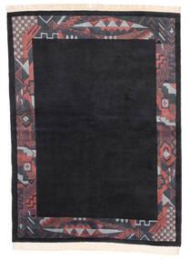Himalaya 絨毯 166X224 モダン 手織り 紺色の (ウール, インド)