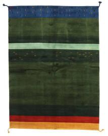 ギャッベ インド 絨毯 166X227 モダン 手織り 深緑色の (ウール, インド)