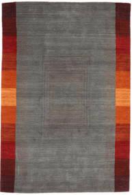 Loribaf ルーム 絨毯 166X243 モダン 手織り 濃いグレー (ウール, インド)
