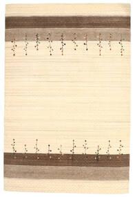 Loribaf ルーム 絨毯 201X300 モダン 手織り ベージュ/茶 (ウール, インド)
